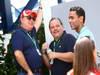 GP BRASILE, 26.11.2011- Prove Libere 3, Sabato, Luis Antonio Massa (BRA), father of Felipe Massa (BRA) e Ricardo Tedeschi (BRA), Ex Manager di Felipe Massa (BRA), Ferrari, F-150 Italia