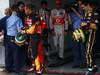 GP BRASILE, 26.11.2011- Qualifiche, Lewis Hamilton (GBR), McLaren  Mercedes, MP4-26 e Bruno Senna (BRA), Lotus Renault GP R31