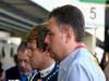 GP BRASILE, 25.11.2011- Prove Libere 1, Venerdi', Sebastian Vettel (GER), Red Bull Racing, RB7 e Mario Isola (ITA), Sporting Director Pirelli