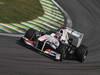 GP BRASILE, 25.11.2011- Prove Libere 2, Venerdi', Kamui Kobayashi (JAP), Sauber F1 Team C30