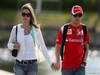 GP CANADA, 10.06.2011- Felipe Massa (BRA), Ferrari, F-150 Italia e sua moglie Raffaela Bassi (BRA)