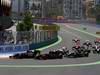GP EUROPA, 26.06.2011- Gara, partenza, Sébastien Buemi (SUI), Scuderia Toro Rosso, STR6 e Vitaly Petrov (RUS), Lotus Renault GP, R31