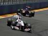GP EUROPA, 26.06.2011- Gara, Kamui Kobayashi (JAP), Sauber F1 Team C30 davanti a Sébastien Buemi (SUI), Scuderia Toro Rosso, STR6
