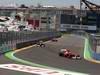 GP EUROPA, 26.06.2011- Gara, Fernando Alonso (ESP), Ferrari, F-150 Italia davanti a Felipe Massa (BRA), Ferrari, F-150 Italia