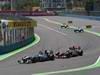 GP EUROPA, 26.06.2011- Gara, Nico Rosberg (GER), Mercedes GP Petronas F1 Team, MGP W02 e Jenson Button (GBR), McLaren  Mercedes, MP4-26