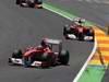 GP EUROPA, 26.06.2011- Gara, Fernando Alonso (ESP), Ferrari, F-150 Italia e Felipe Massa (BRA), Ferrari, F-150 Italia
