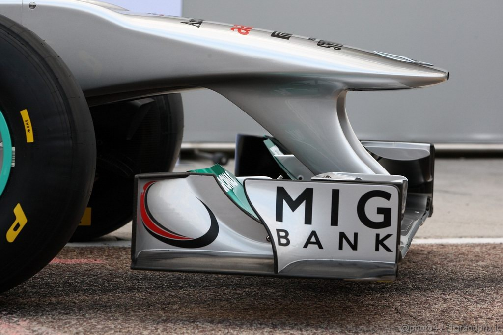 Mercedes MGP W02,  MGP W02 detail - Mercedes GP Petronas F1 Team MGP W02 Launch - Formula 1 World Championship
