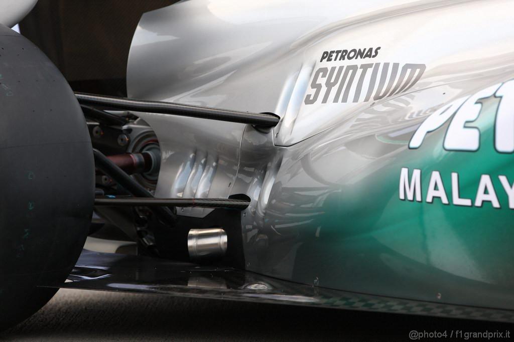 Mercedes MGP W02,  MGP W02 detail - Mercedes GP Petronas F1 Team MGP W02 Launch - Formula 1 World Championship