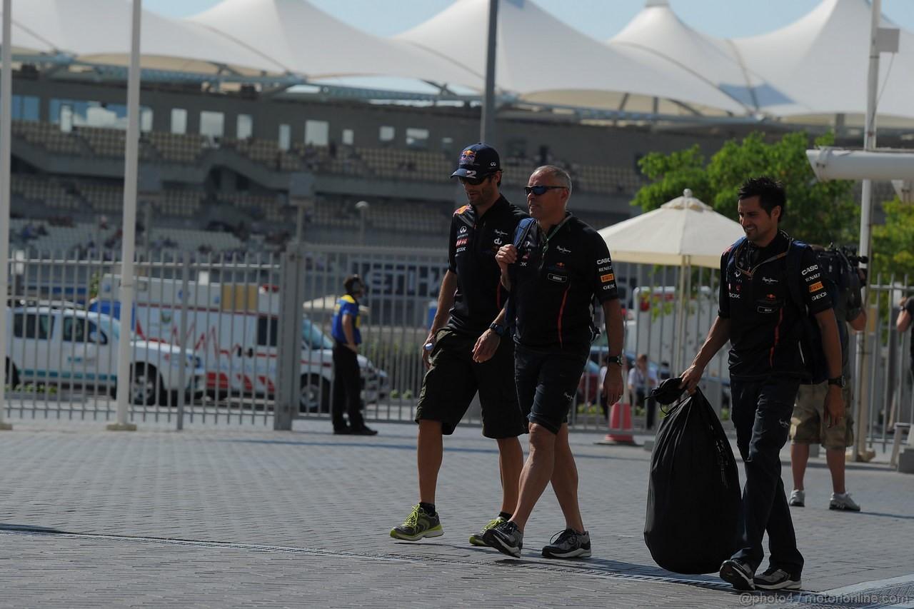 GP ABU DHABI, Mark Webber (AUS) Red Bull Racing RB8