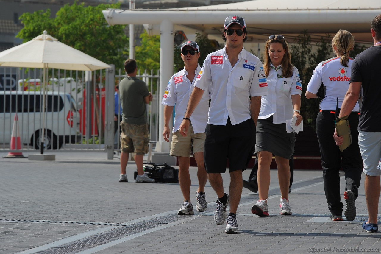 GP ABU DHABI, Sergio P�rez (MEX) Sauber F1 Team C31