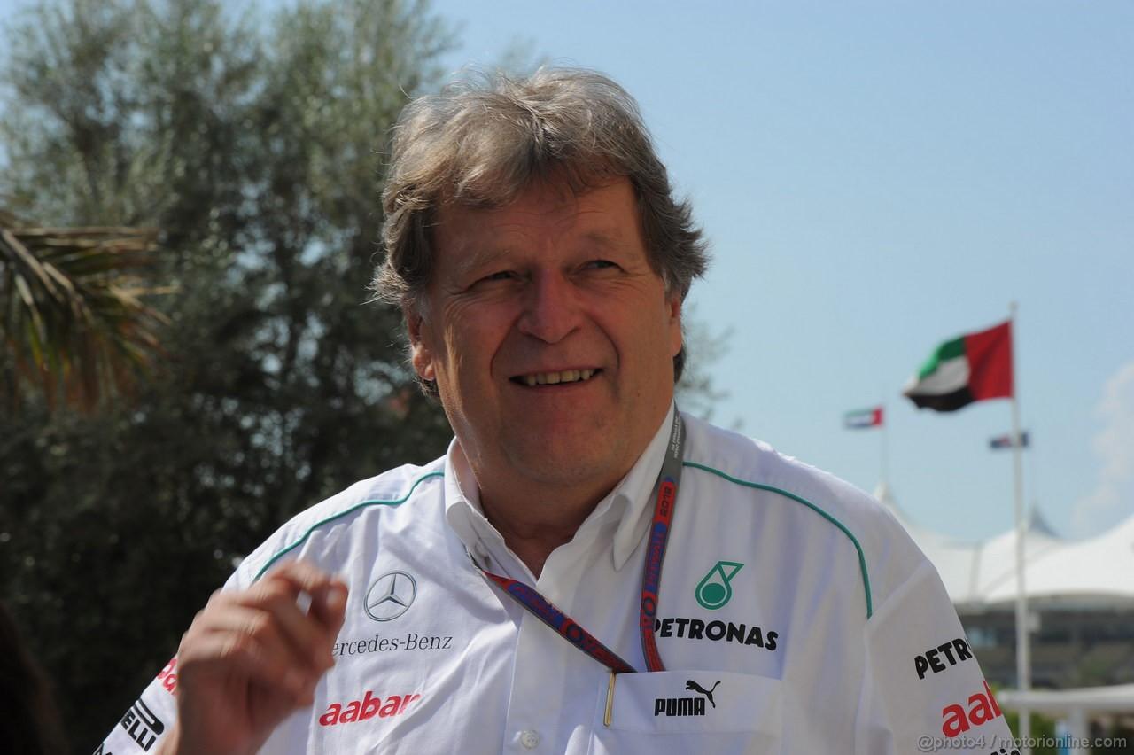 GP ABU DHABI, Norbert Haug (GER), Mercedes Motorsport chief