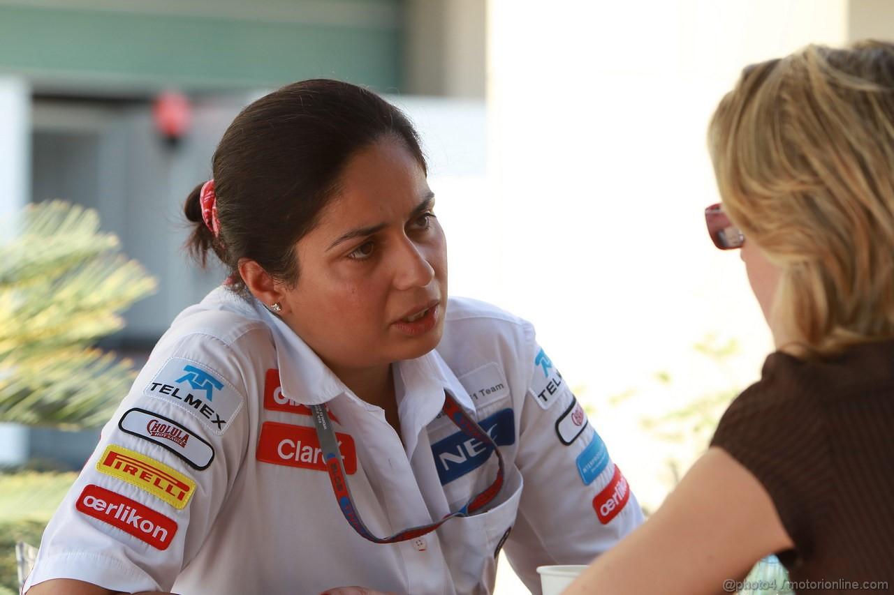 GP ABU DHABI, Monisha Kaltenborn (AUT), CEO e Team Principal, Sauber F1 Team