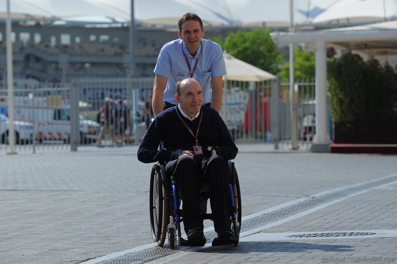 GP ABU DHABI, Sir Frank Williams (GBR), Team Principal Williams F1 Team
