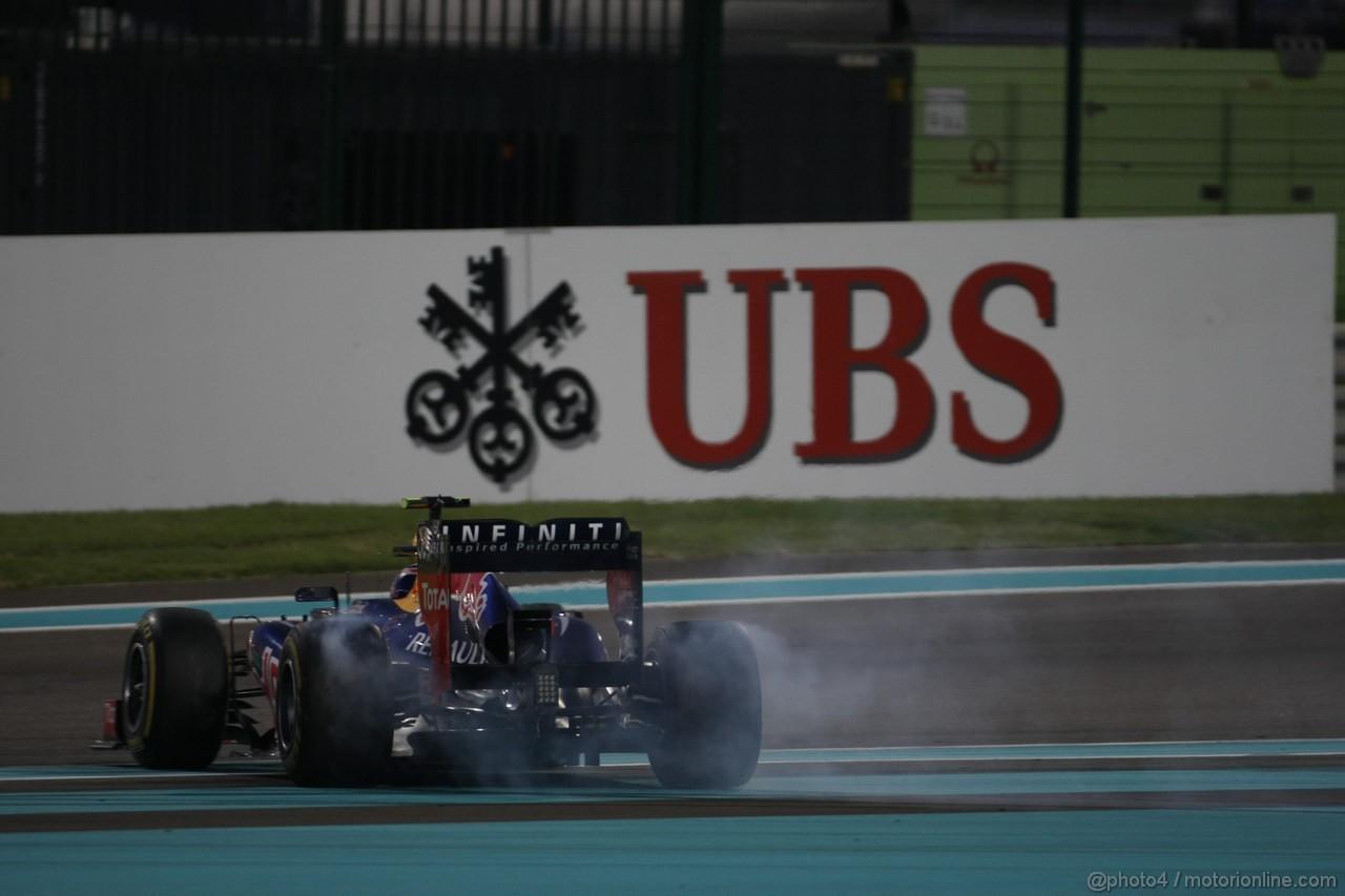 GP ABU DHABI, Gara: Mark Webber (AUS) Red Bull Racing RB8