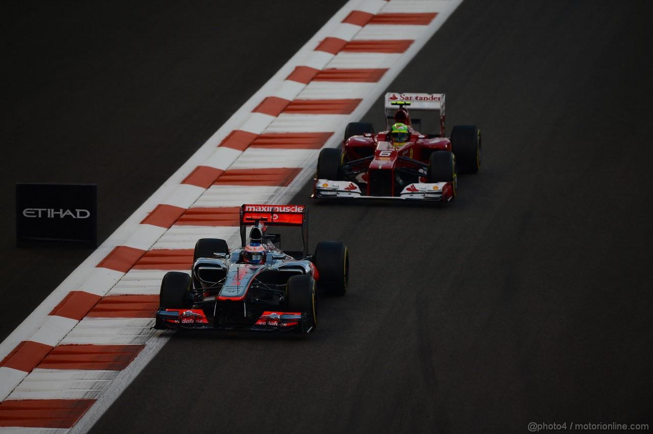 GP ABU DHABI, Gara: Jenson Button (GBR) McLaren Mercedes MP4-27