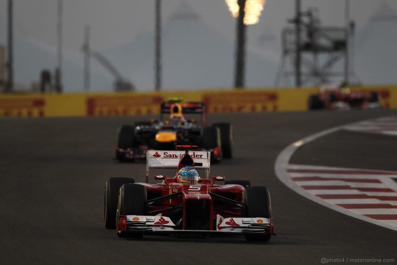 GP ABU DHABI, Gara: Fernando Alonso (ESP) Ferrari F2012