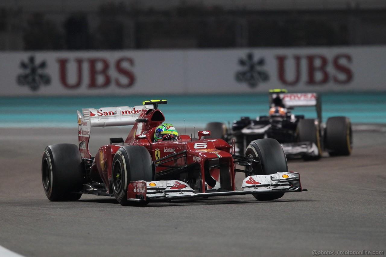 GP ABU DHABI, Gara: Felipe Massa (BRA) Ferrari F2012
