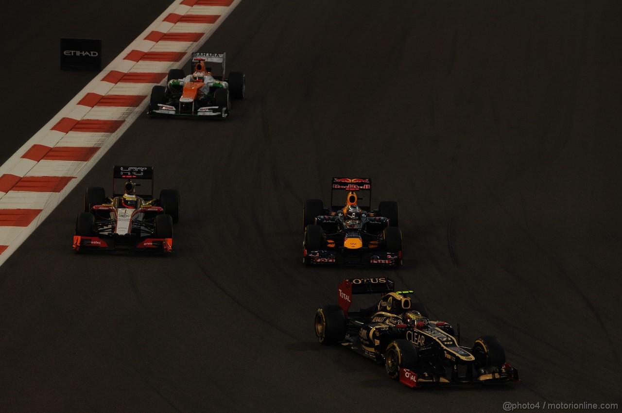 GP ABU DHABI, Gara: Romain Grosjean (FRA) Lotus F1 Team E20