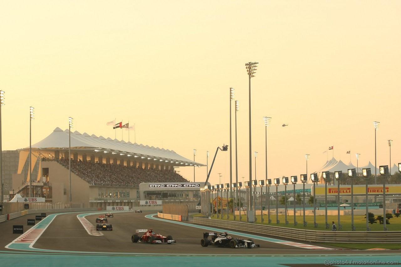 GP ABU DHABI, Gara: Pastor Maldonado (VEN) Williams F1 Team FW34
