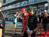 GP ABU DHABI, Drivers Parade: Fernando Alonso (ESP) Ferrari F2012 e Heikki Kovalainen (FIN) Caterham F1 Team CT01