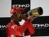 GP ABU DHABI, Podium: Fernando Alonso (ESP) Ferrari F2012 (secondo)