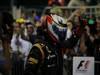 GP ABU DHABI, Podium: Kimi Raikkonen (FIN) Lotus F1 Team E20 (vincitore)