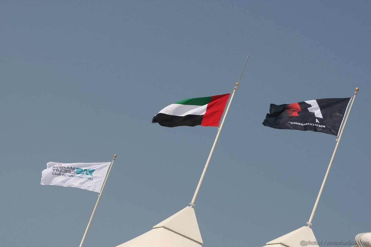 GP ABU DHABI, Atmosphere
