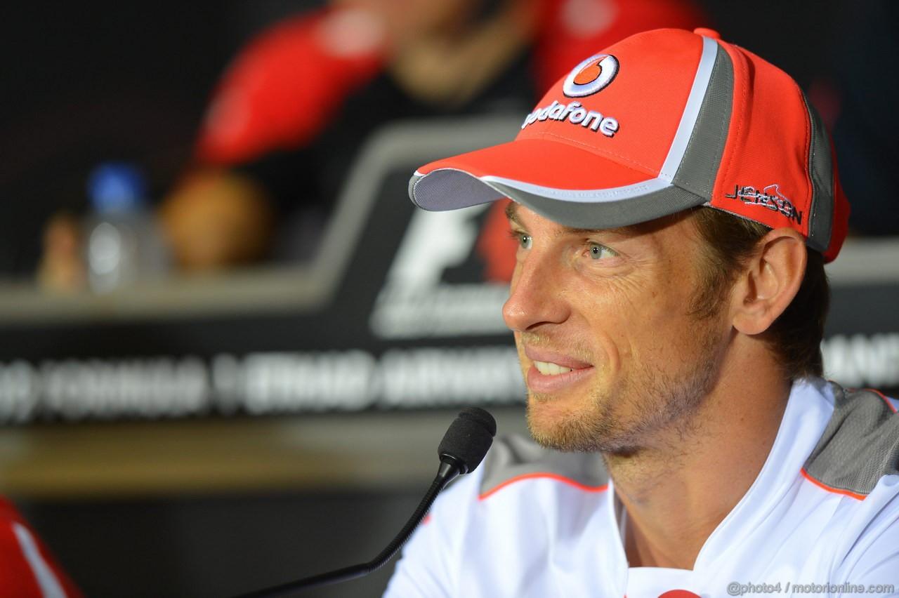 GP ABU DHABI, Jenson Button (GBR) McLaren Mercedes MP4-27