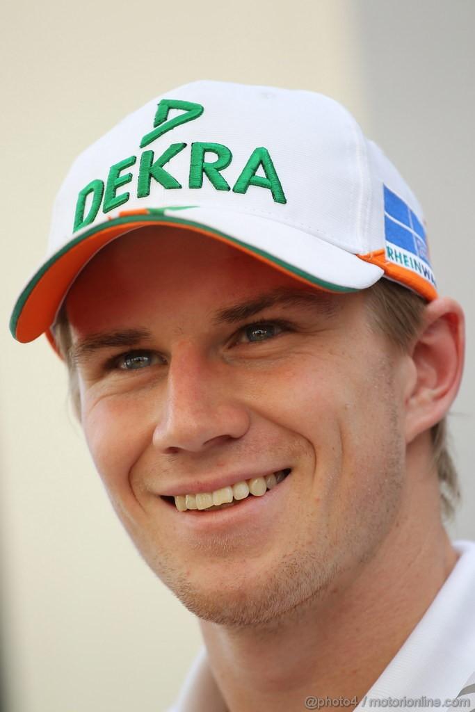 GP ABU DHABI, Nico Hulkenberg (GER) Sahara Force India F1 Team VJM05