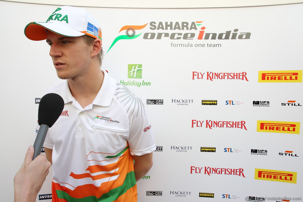 GP ABU DHABI, Nico Hulkenberg (GER) Sahara Force India F1 Team VJM05