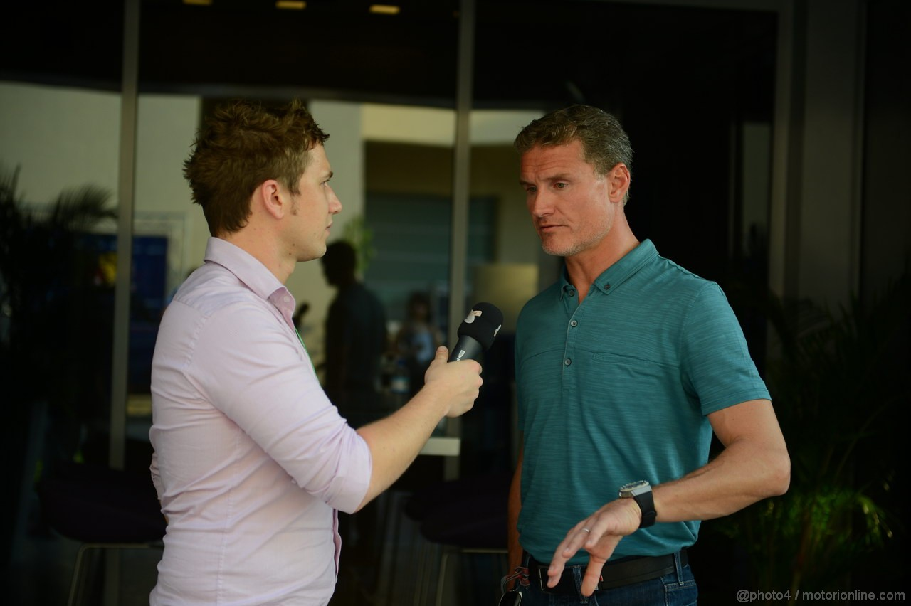 GP ABU DHABI, David Coulthard (GBR)