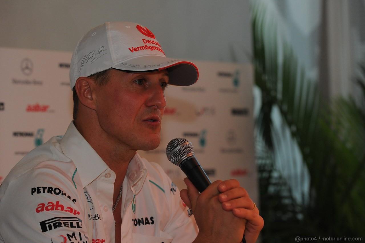 GP ABU DHABI, Michael Schumacher (GER) Mercedes AMG F1 W03