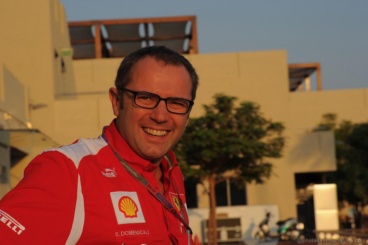 GP ABU DHABI, Stefano Domenicali (ITA), Ferrari Team Principal