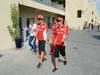 GP ABU DHABI, Fernando Alonso (ESP) Ferrari F2012 e Felipe Massa (BRA) Ferrari F2012