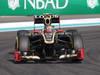 GP ABU DHABI, Free Practice 3: Romain Grosjean (FRA) Lotus F1 Team E20