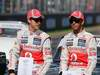 GP AUSTRALIA, Jenson Button (GBR) McLaren Mercedes & Lewis Hamilton (GBR) McLaren Mercedes