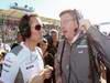 GP AUSTRALIA, Sam Michael, Sporting Director, McLaren Mercedes & Ross Brawn, Team Principal, Mercedes GP