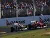 GP AUSTRALIA, Paul di Resta (GBR), Sahara Force India Formula One Team e Felipe Massa (BRA), Ferrari