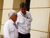 GP BAHRAIN, 22.04.2012- Bernie Ecclestone (GBR), President e CEO of Formula One Management  e Pasquale Lattuneddu (ITA), FOM