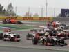 GP BAHRAIN, 22.04.2012- Gara, Start of the race, Romain Grosjean (FRA) Lotus F1 Team E20