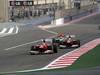 GP BAHRAIN, 22.04.2012- Gara, Fernando Alonso (ESP) Ferrari F2012 davanti a Felipe Massa (BRA) Ferrari F2012 e Lewis Hamilton (GBR) McLaren Mercedes MP4-27