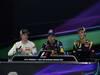 GP BAHRAIN, 22.04.2012- Gara, Conferenza Stampa, Kimi Raikkonen (FIN) Lotus F1 Team E20, Sebastian Vettel (GER) Red Bull Racing RB8 e Romain Grosjean (FRA) Lotus F1 Team E20