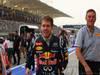 GP BAHRAIN, 22.04.2012- Gara, Sebastian Vettel (GER) Red Bull Racing RB8 vincitore e Mario Isola (ITA), Sporting Director Pirelli
