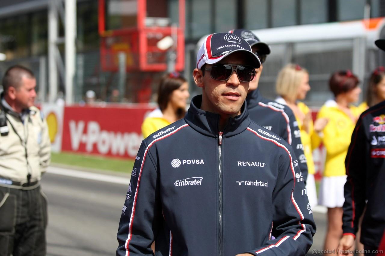 GP BELGIO, 02.09.2012- Pastor Maldonado (VEN) Williams F1 Team FW34