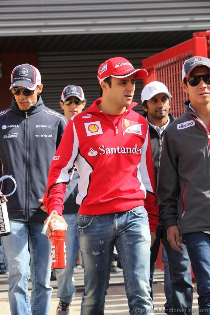 GP BELGIO, 02.09.2012- Felipe Massa (BRA) Ferrari F2012