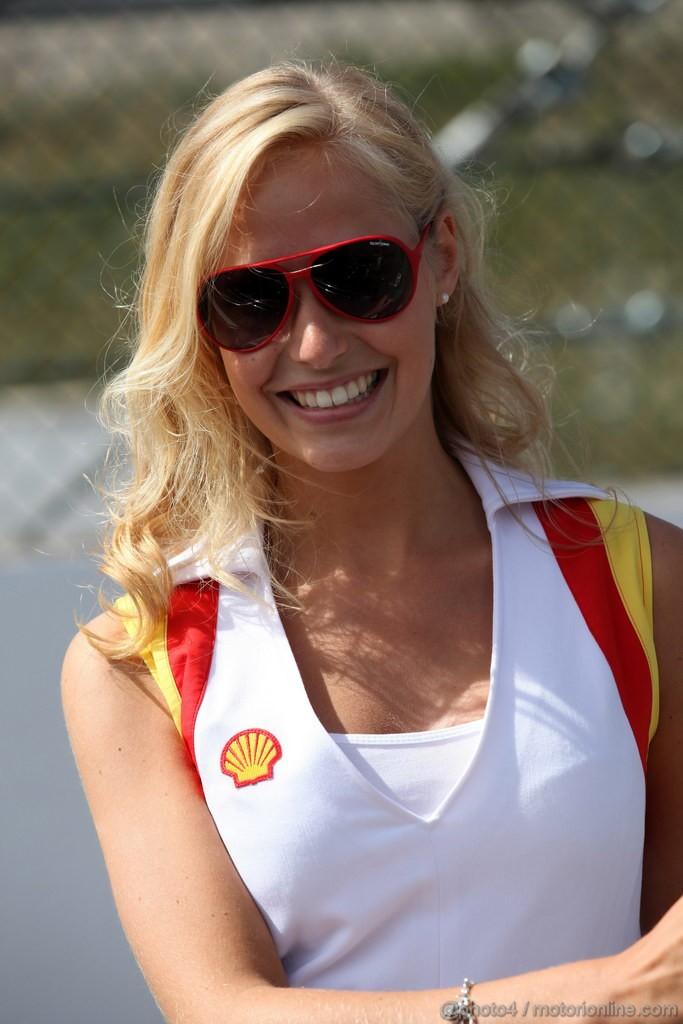 GP BELGIO, 02.09.2012- Gara, griglia Ragazza