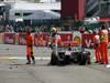 GP BELGIO, 02.09.2012- Gara, Start of the race, Crash, Lewis Hamilton (GBR) McLaren Mercedes MP4-27