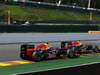 GP BELGIO, 02.09.2012- Gara, Mark Webber (AUS) Red Bull Racing RB8 e Sebastian Vettel (GER) Red Bull Racing RB8
