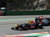 GP BELGIO, 02.09.2012- Gara, Mark Webber (AUS) Red Bull Racing RB8 e Nico Rosberg (GER) Mercedes AMG F1 W03