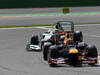 GP BELGIO, 02.09.2012- Gara, Mark Webber (AUS) Red Bull Racing RB8 davanti a Nico Rosberg (GER) Mercedes AMG F1 W03